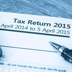 Tax Return Paper